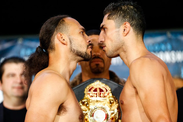 Keith Thurman Vs Josesito Lopez Weigh-in and Stare Down