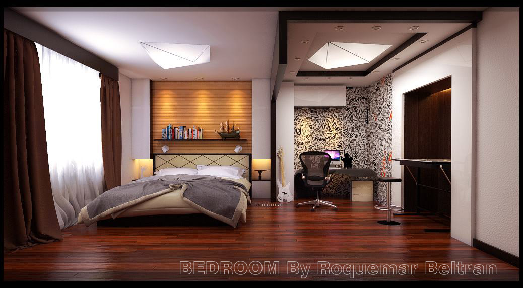 sketchup texture su bedroom model vray  beta tutorial