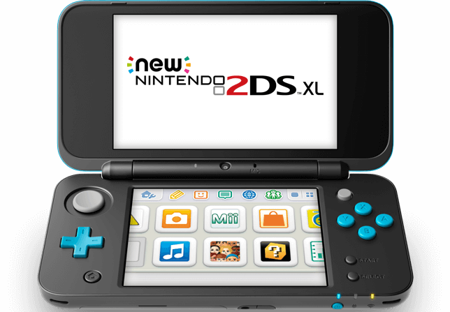 Nintendo 2DS XL portable system announced 4.88-inch screen and built-in NFC