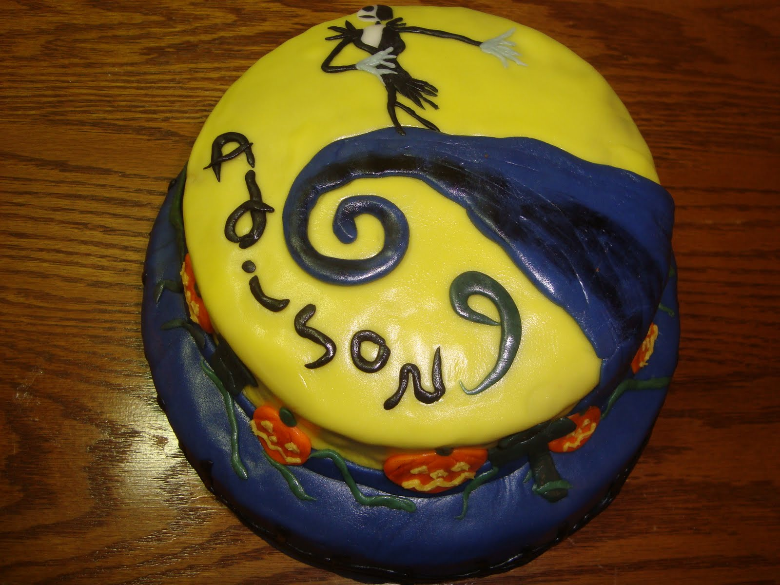 The Fairy Cake Mother Nightmare Before Christmas Cake