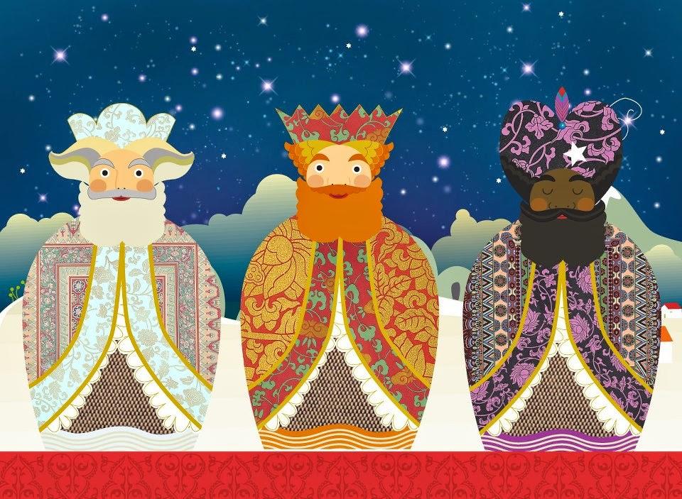 Ilustracion Dibujo By Maria Carolina Ramirez Alvarez At: Pinzellades Al Món: Els Tres Reis Mags: Melcior, Gaspar I