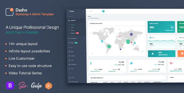 Best Bootstrap Admin Dashboard Template