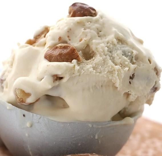 MAPLE WALNUT ICE CREAM – NO CHURN KETO RECIPE #healthydessert #diet