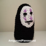 PATRON FACE KAONASHI SPIRITED AWAY AMIGURUMI 23859