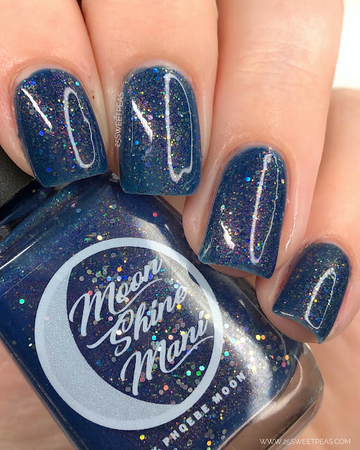 Moon Shine Mani Through the Heavens 25 Sweetpeas