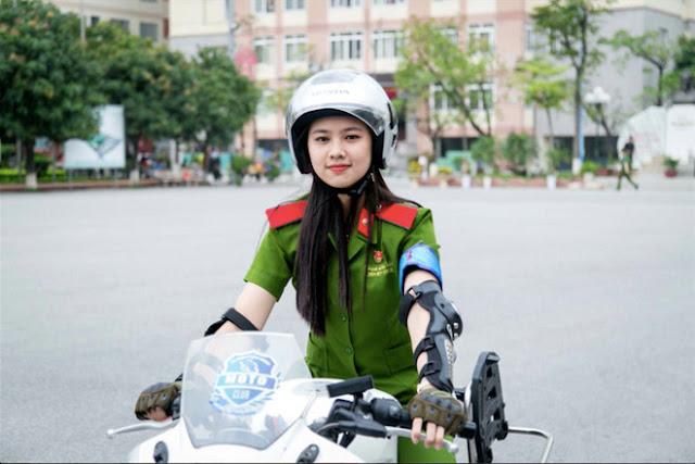thuy21 - Tổng Hợp các HOT Girl Nữ Cảnh Sát đốn tim FAN nhất Việt Nam