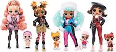 Модницы L.O.L. Surprise! O.M.G. Winter Chill: новые куклы с сестричками