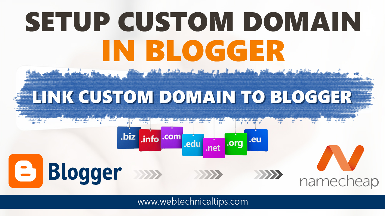 how to add domain in blogger