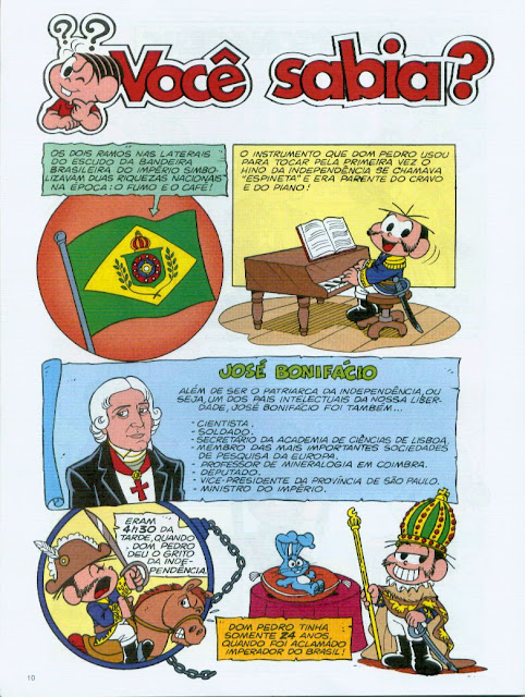 passatempos sobre a independencia do brasil