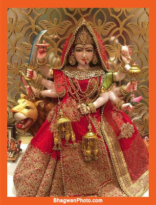 Picture Of Durga Mata