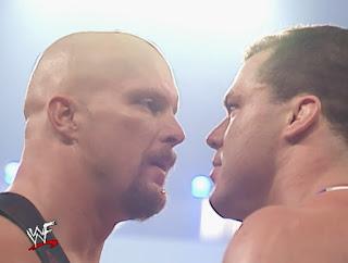 WWE / WWF Vengeance 2001 - Steve Austin vs. Kurt Angle
