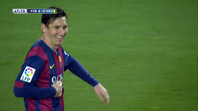 LFP-Week-34 : Barcelona 6 vs 0 Getafe 28-04-2015