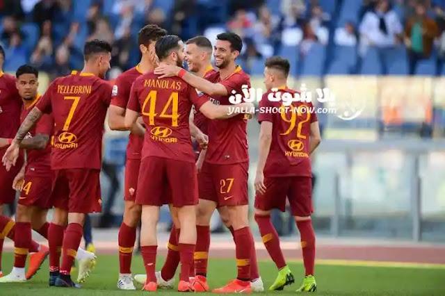 يسضيف اليوم روما هيلاس فيرونا في ملعب سان مارينو في اطار الجولة الثلاثة والثلاون من بطولة الدوري الايطالي الممتاز