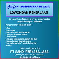 Karir Surabaya di PT. Sandi Perkasa Jasa Jawa Timur Januari 2021