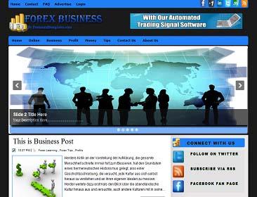 Forex blogspot template