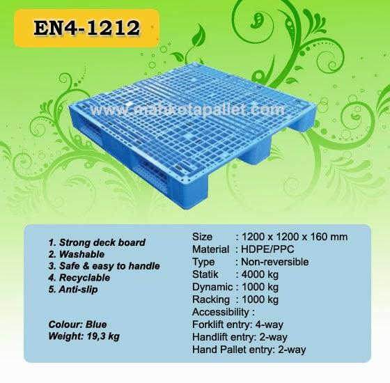 Pallet Plastik EN4-1212
