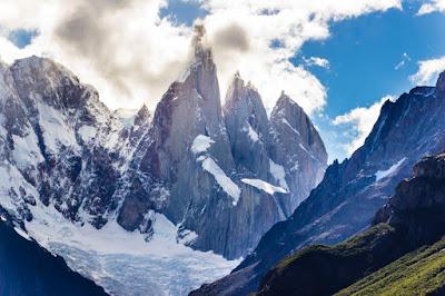 Adela Norte, Cerro Torre, Torre Egger, Punta Heron y Standhardt - Parque Nacional de los Glaciares