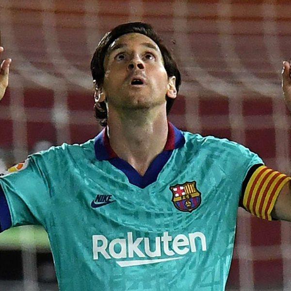 Lionel Messi Breaks La Liga Record