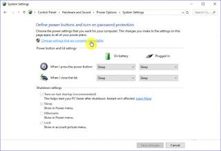 Cara Memunculkan Opsi Hibernate di Windows 10
