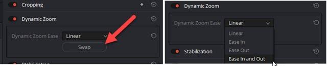 dynamic-zoom-impostazioni