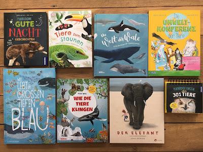Tierbücher, Tiersachbücher, Buchvorstellung auf Kinderbuchblog Familienbuecherei