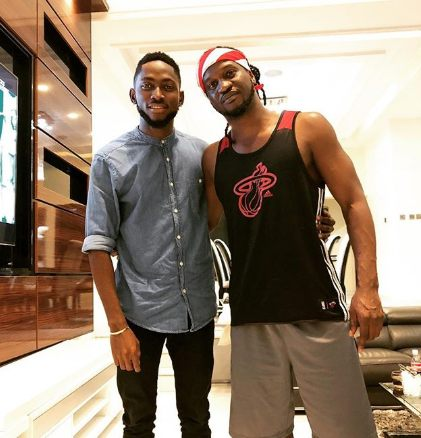 Paul Okoye and Miracle