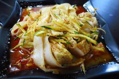 Huang Tu Di Xi'An Delights (黄土地西安小吃), liang pi