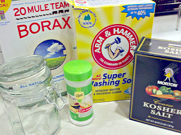 Homemade Dishwasher Detergent Revised - One Good Thing by ...