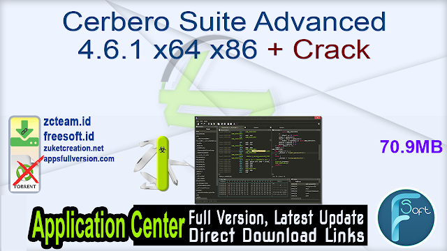 Cerbero Suite Advanced 4.6.1 x64 x86 + Crack