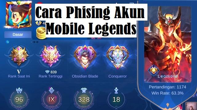 Cara Phising Akun Mobile Legends