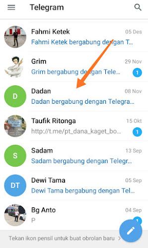 Kontak Telegram