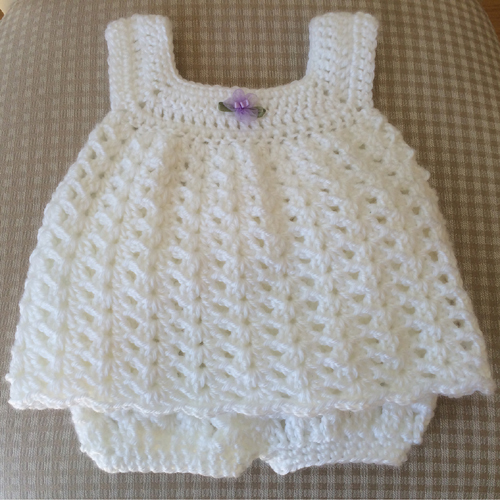 Easy Baby Sun Dress - Free Pattern