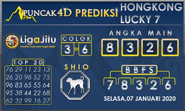 PREDIKSI TOGEL HONGKONG LUCKY7 PUNCAK4D 07 JANUARI 2020