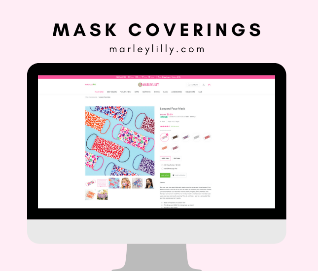 marleylilly face masks