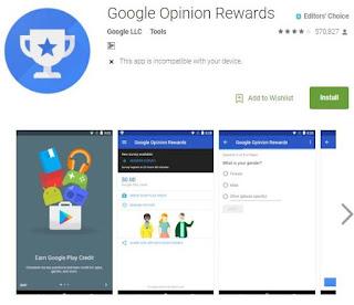 Google Opinion Rewards