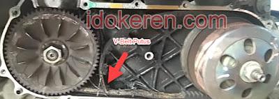 Faktor Penyebab V-Belt Sepeda Motor Matic Cepat putus