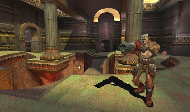 Pantallazo del Quake III Arena