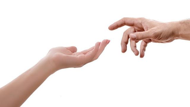 hand man woman