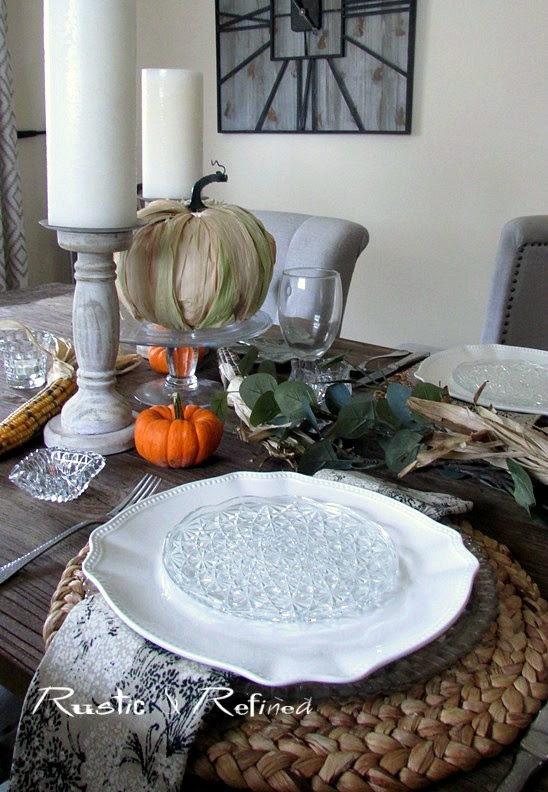Fall Craft - DIY Drab to Fab Pumpkin