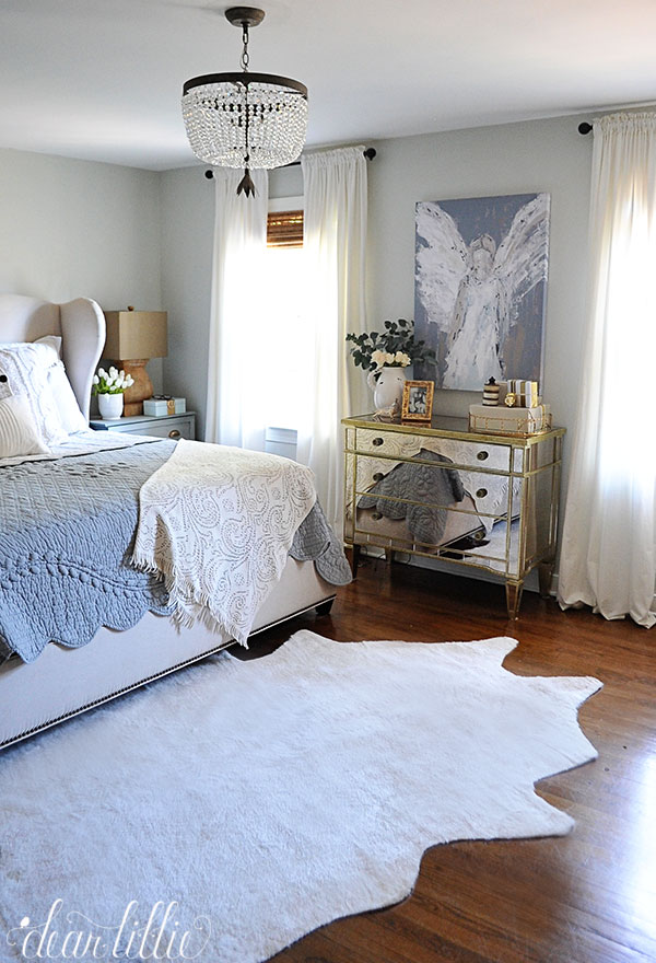 Dear Lillie: A Few Finishing Touches in Our Master Bedroom