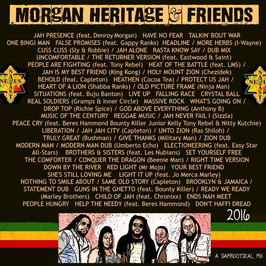 SiamRootsical Roots Riddim Broadcaster: Morgan Heritage 20