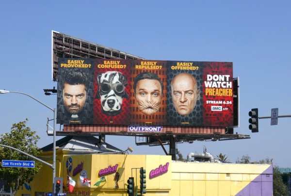 Preacher season 3 billboard