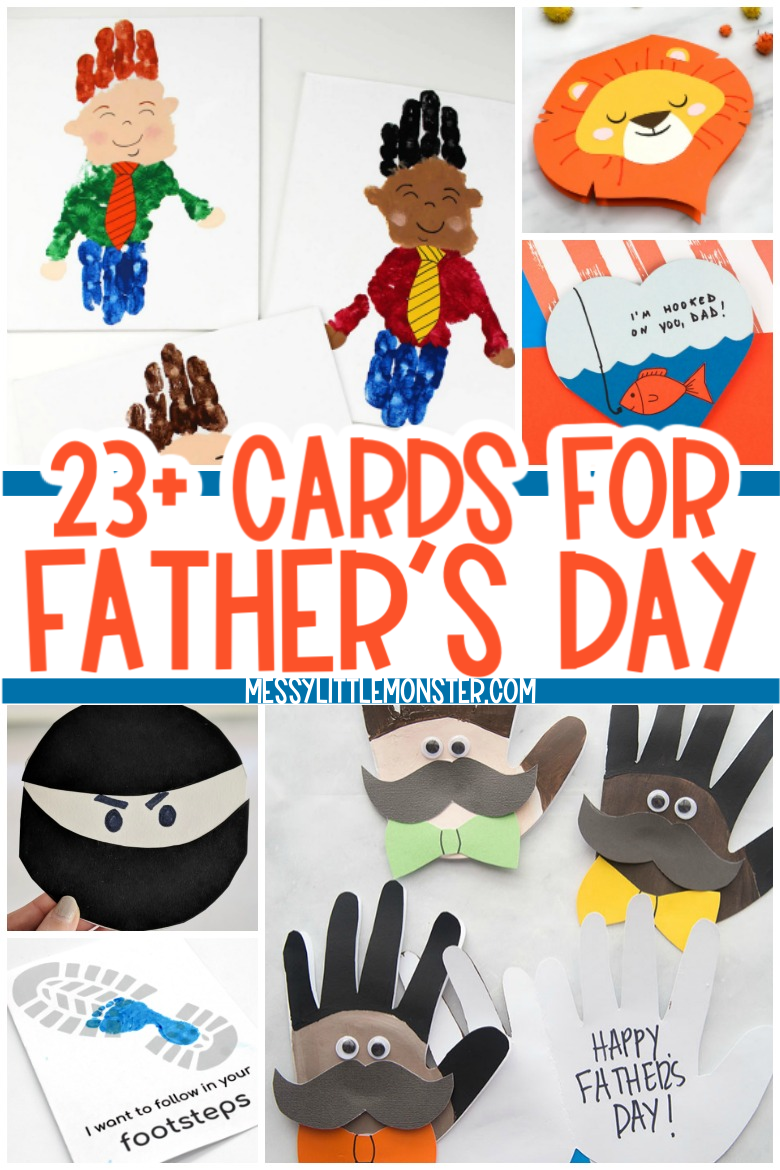 23 Easy Homemade Cards for Father's Day