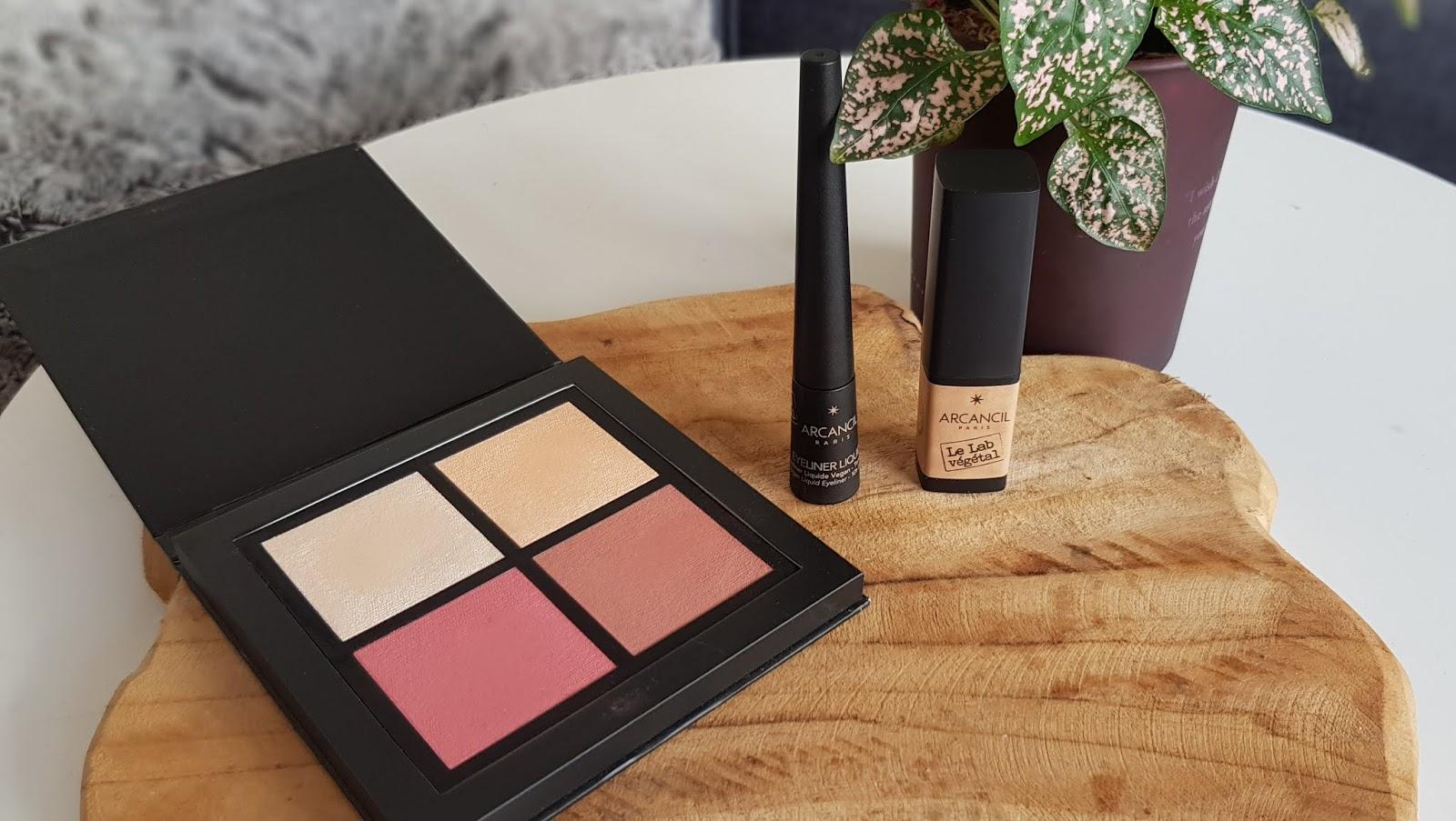 Palette blush, elluminateur et bronzer