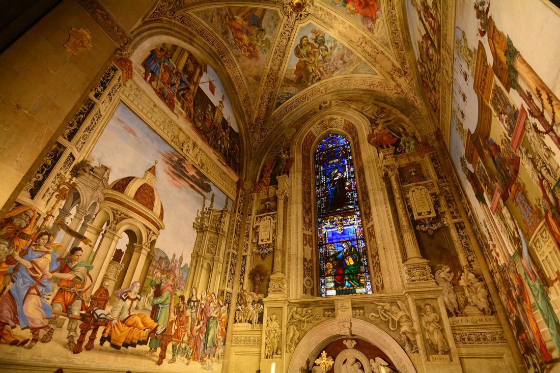 chapelle Strozzi Santa Maria Novella Florence