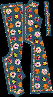 Flower Pajami Design