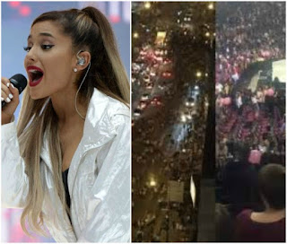 Ariana Grande 'raises £2m' for Manchester victims with Her One Love benefit concert Held Yesterday