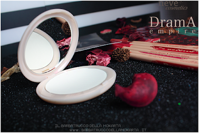 Drama Matte powder, cipria compatta  drama empire collection neve cosmetics