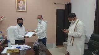 विधायक कमलेश शाह ने कोविड-19 सेंटर के लिए विधानसभा क्षेत्र में दिए 36 लाख रुपए