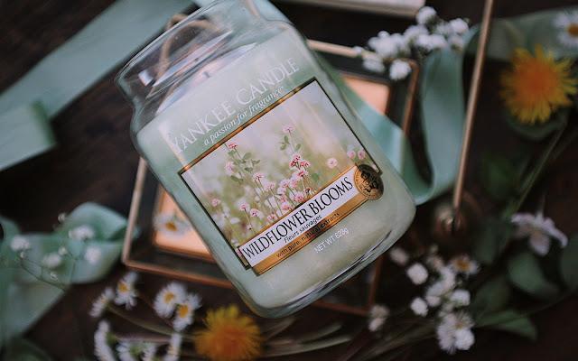 Łąkowe (około majowe :) ) klimaty - Wildflower Blooms Yankee Candle - Czytaj więcej »